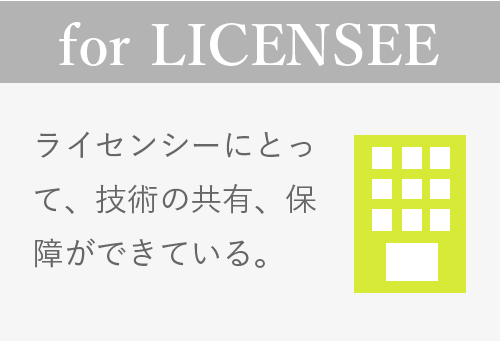for LICENSEE
