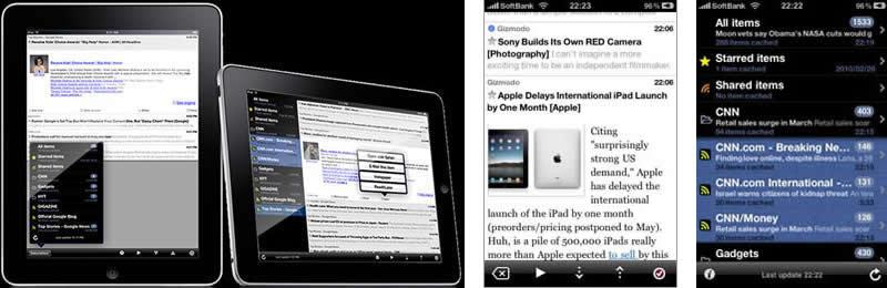 BLNS -Blog & News RSS Reader  Synced with Google reader.  ReadItLater & InstaPaper Support.iPad向けに最適化されたRSSリーダー ・Googleリーダーとシンクロ ・記事をプレイ/ポーズボタンでオートスクロールさせて読む機能 ・フォルダやフィード単位での閲覧、管理 ・記事をeメールやInstapaper,ReadItLaterにポストする機能 ・オリジナルのWebサイトを表示する内蔵Webブラウザを装備 ・記事や写真などを保存してオフラインで読む機能