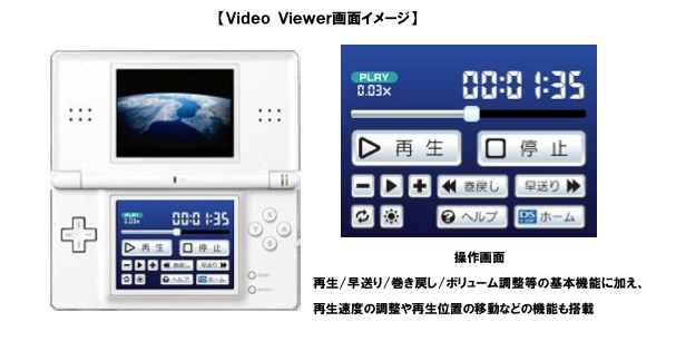 Nintendo DS Vision VIDEO Viewer